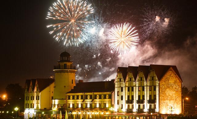 Новый 2018 год в калининграде