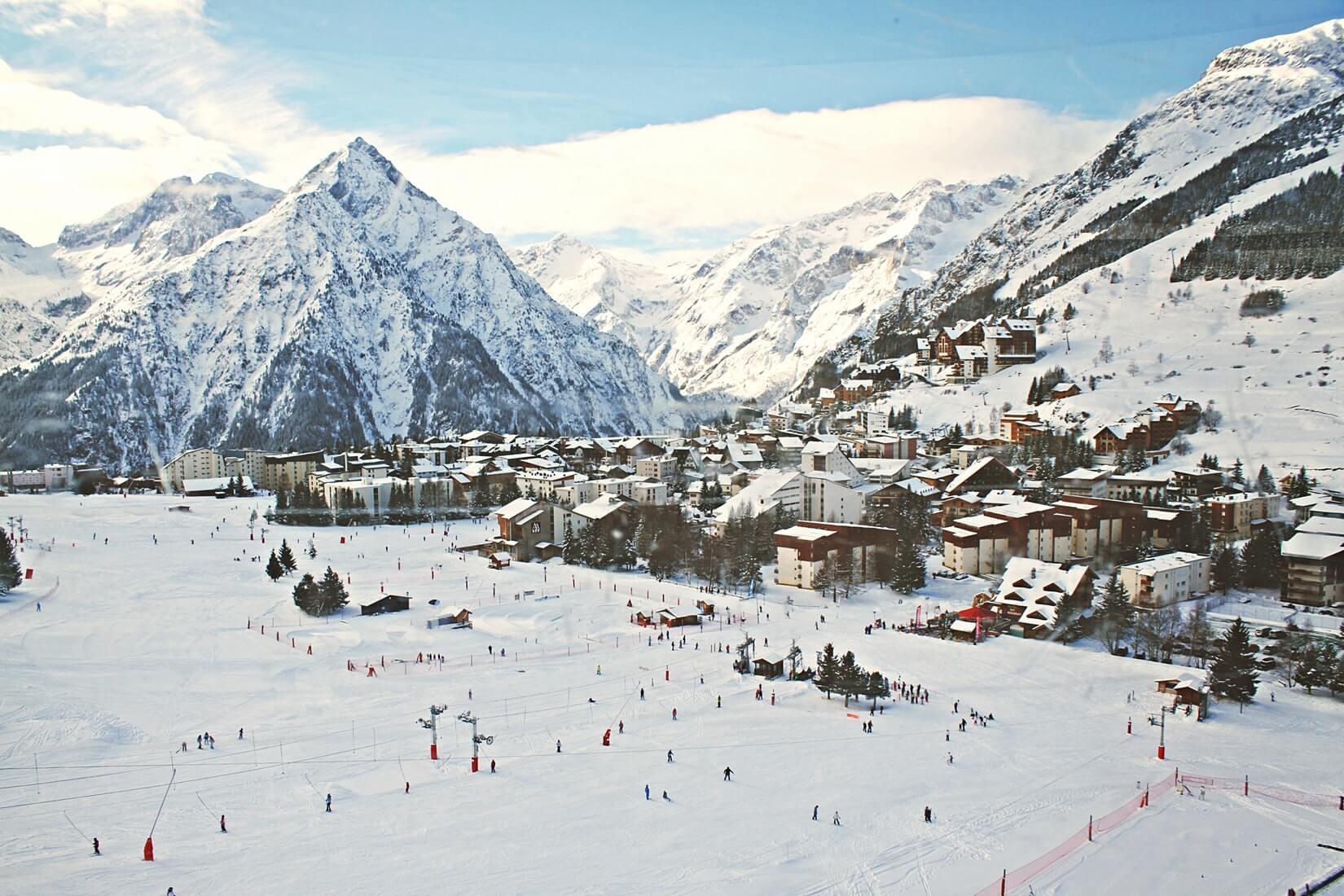 где покататься на сноуборде