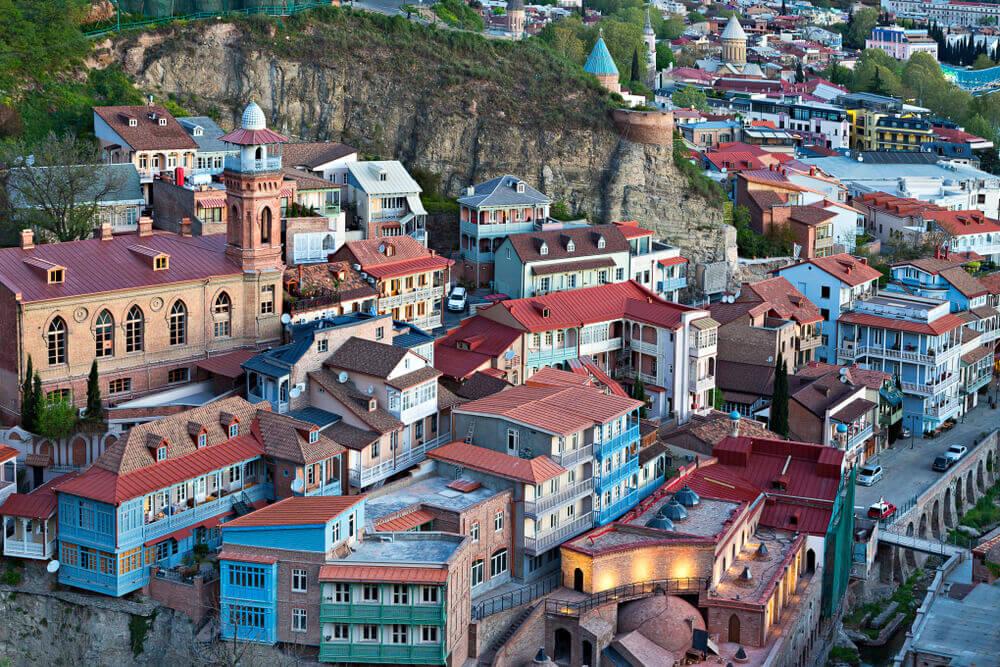 В тбилиси есть море и пляж