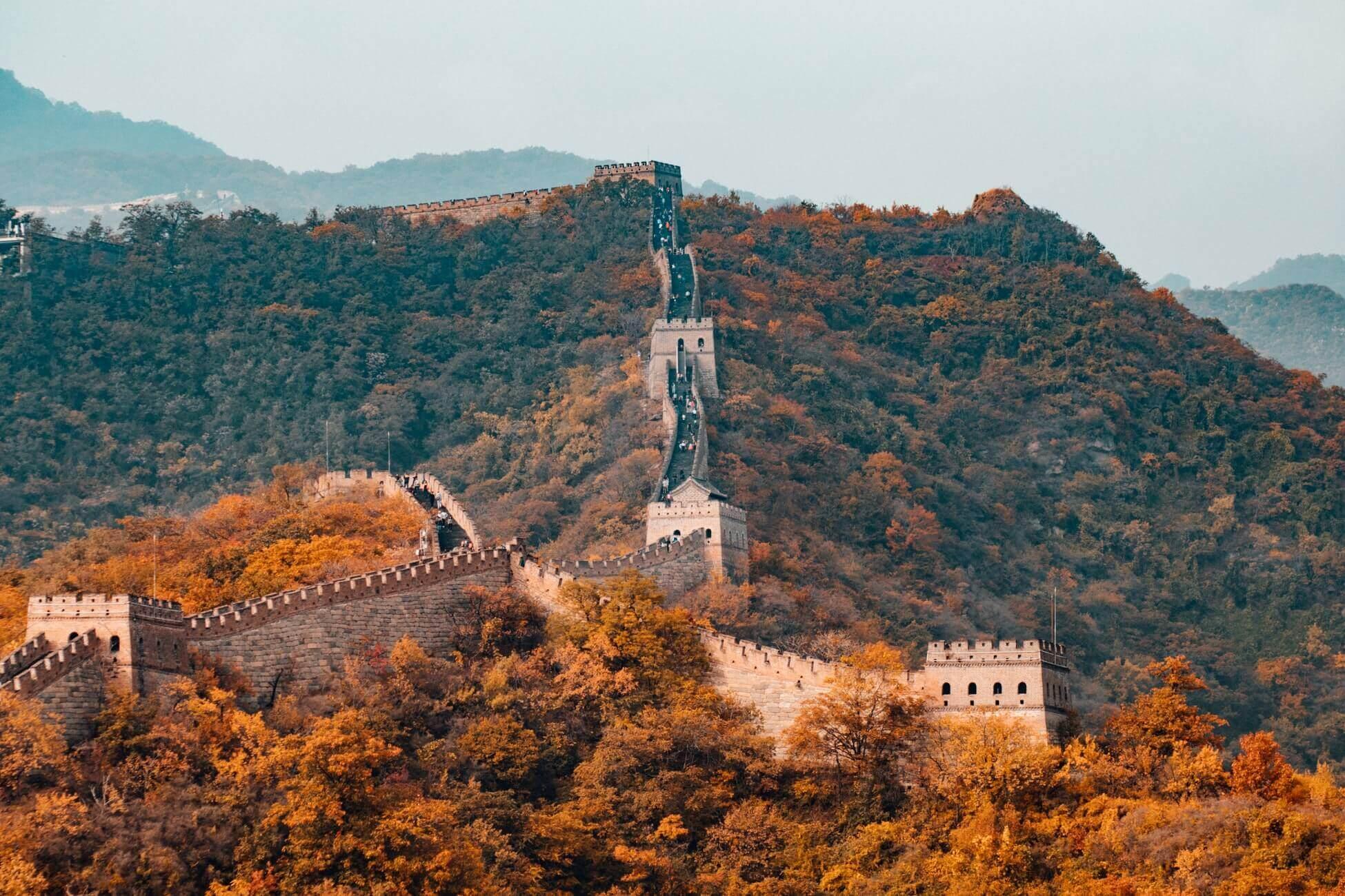 Поясним за новости: количество туристов на Великую Китайскую стену сократят